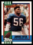 1990 Topps #52  Lawrence Taylor  Front Thumbnail