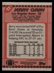 1990 Topps #71  Jerry Gray  Back Thumbnail