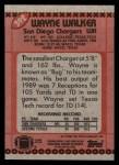 1990 Topps #392  Wayne Walker  Back Thumbnail