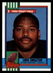 1990 Topps #416  Chris Singleton  Front Thumbnail