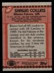 1990 Topps #467  Shawn Collins  Back Thumbnail