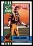 1990 Topps #2   -  Flipper Anderson Record Breaker Front Thumbnail