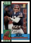 1990 Topps #207  Jim Kelly  Front Thumbnail