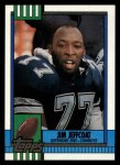 1990 Topps #491  Jim Jeffcoat  Front Thumbnail