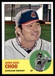 2012 Topps Heritage #219  Shin-Soo Choo  Front Thumbnail