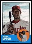 2012 Topps Heritage #481  Justin Upton  Front Thumbnail
