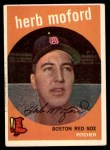1959 Topps #91  Herb Moford  Front Thumbnail