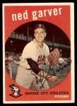 1959 Topps #245  Ned Garver  Front Thumbnail