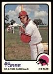 1973 Topps #450  Joe Torre  Front Thumbnail