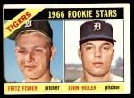 1966 Topps #209   -  Fritz Fisher / John Hiller Tigers Rookies Front Thumbnail