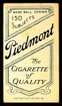 1909 T206 FLD Wid Conroy  Back Thumbnail
