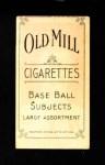 1909 T206  Otto Kruger / Mispelled as Krueger  Back Thumbnail