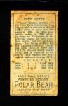 1911 T205  Jack Quinn  Back Thumbnail