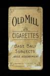 1909 T206  Bill Hallman  Back Thumbnail