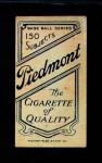 1909 T206 POR Fred Clarke  Back Thumbnail