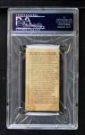 1910 E98 #11  Bill Dahlen  Back Thumbnail