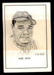 1950 Callahan Hall of Fame  Babe Ruth  Front Thumbnail