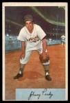1954 Bowman #135  Johnny Pesky  Front Thumbnail