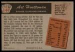 1955 Bowman #144  Art Houtteman  Back Thumbnail