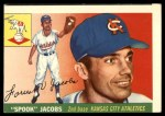 1955 Topps #61  Spook Jacobs  Front Thumbnail