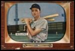 1955 Bowman #204 COR Frank Bolling  Front Thumbnail