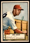 1952 Topps #74  Andy Hansen  Front Thumbnail