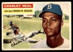 1956 Topps #299  Charlie Neal  Front Thumbnail
