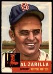 1953 Topps #181  Al Zarilla  Front Thumbnail