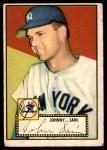 1952 Topps #49 COR Johnny Sain  Front Thumbnail