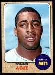 1968 Topps #465  Tommie Agee  Front Thumbnail