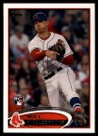 2012 Topps Update #70  Will Middlebrooks  Front Thumbnail