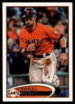 2012 Topps Update #249  Angel Pagan  Front Thumbnail