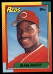 1990 Topps Traded #13 T Glenn Braggs  Front Thumbnail