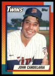 1990 Topps Traded #18 T John Candelaria  Front Thumbnail