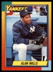 1990 Topps Traded #75 T Alan Mills  Front Thumbnail