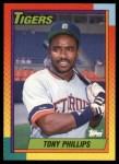 1990 Topps Traded #95 T Tony Phillips  Front Thumbnail