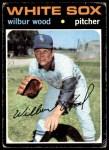 1971 Topps #436  Wilbur Wood  Front Thumbnail