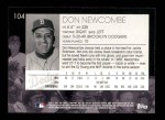 2001 Topps American Pie #104  Don Newcombe  Back Thumbnail