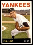 1964 Topps #344  Phil Linz  Front Thumbnail