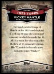 2010 Topps Cards Your Mom Threw Out #60 CMT  -  Mickey Mantle 1952 Topps REPRINT Back Thumbnail