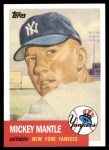 2010 Topps Cards Your Mom Threw Out #60 CMT  -  Mickey Mantle 1952 Topps REPRINT Front Thumbnail