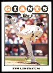 2010 Topps Cards Your Mom Threw Out #57 CMT Tim Lincecum  Front Thumbnail