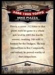 2010 Topps Cards Your Mom Threw Out #44 CMT Mike Piazza  Back Thumbnail