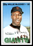 2010 Topps Cards Your Mom Threw Out #16 CMT Willie McCovey  Front Thumbnail