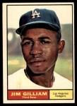 1961 Topps #238  Jim Gilliam  Front Thumbnail