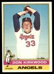 1976 Topps #108  Don Kirkwood  Front Thumbnail