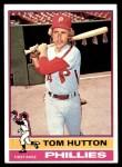 1976 Topps #91  Tom Hutton  Front Thumbnail
