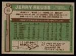 1976 Topps #60  Jerry Reuss  Back Thumbnail
