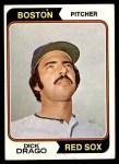 1974 Topps #113  Dick Drago  Front Thumbnail