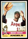 1976 Topps #85  Mickey Rivers  Front Thumbnail